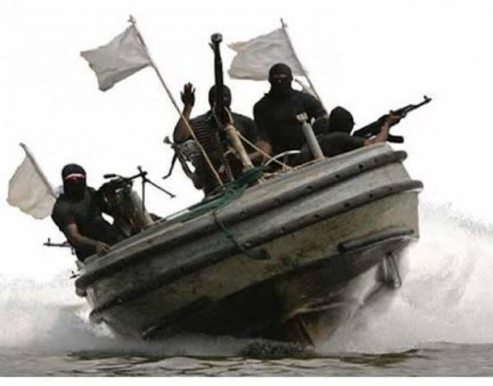 FILE: pirates on a waterway: demands ransom for kidnapped nine maritime workers