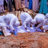 Burial of a COVID-19 patient: Lagos records 288 deaths so far in third wave of COVID-19