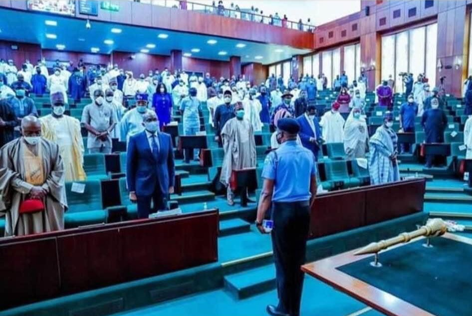 House of Reps in session