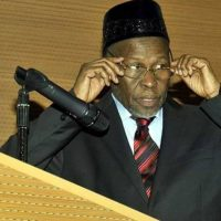 Justice Mohammed Tanko, Chief Justice of the Federation