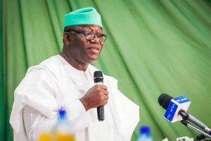 Governor Kayode Fayemi: reimposes COVIS-19 restrictions on Ekiti State