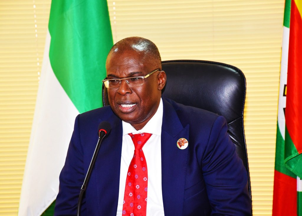 Minister of State for Petroleum Resources, Mr Timipre Sylva,