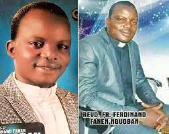 Catholic Priest, Reverend Father Ferdinand Fanen Ngugban who was among four persons killedl in Katsina-Ala Local Government Area of Benue State