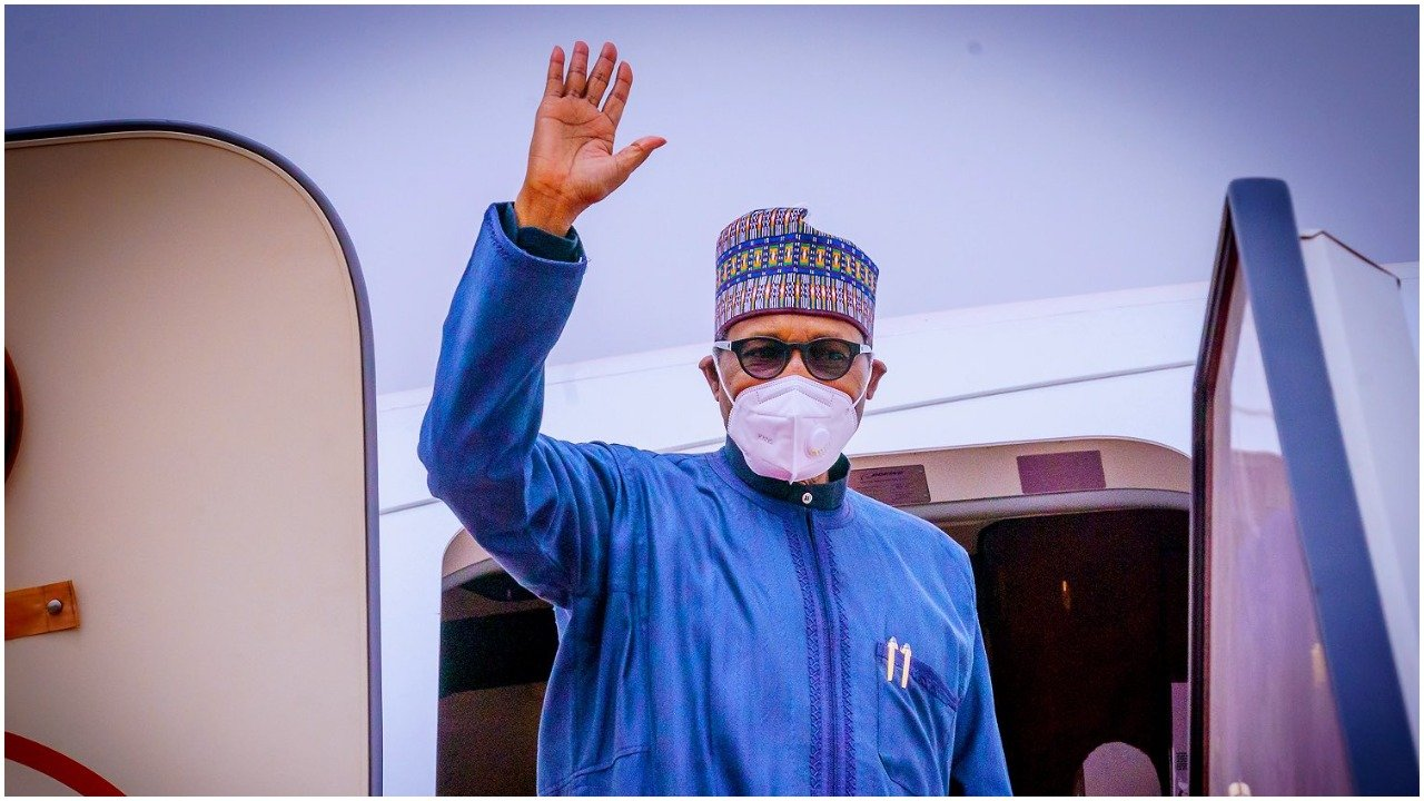 Buhari when he was flying out to London for medical treatment. He came back last week