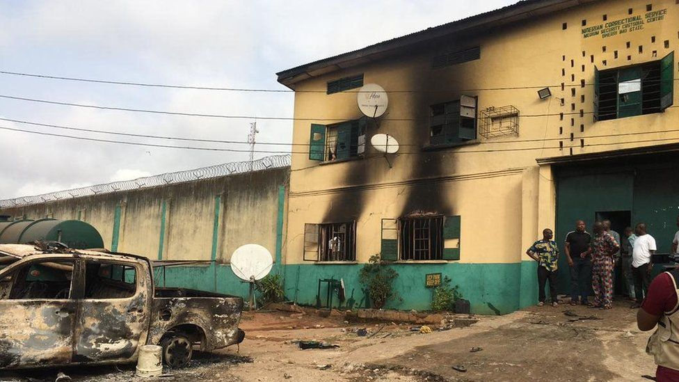 Owerri prison: attacked by IPOB