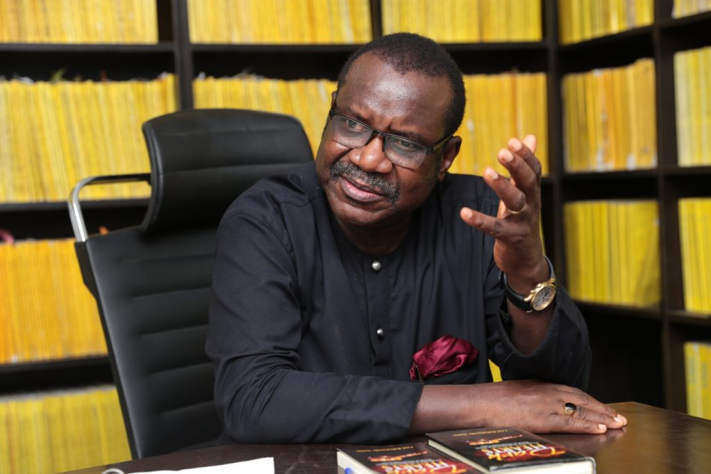 """Layi Babatunde, (SAN): """"Say, for instance, as the president, you take the oath of office and you say the security of lives and property of all Nigerians is your responsibility, it becomes a matter of law and that of your conscience. You cannot discriminate. But even those of us that the law does not impose that duty on we need to imbibe that idea..."""""""