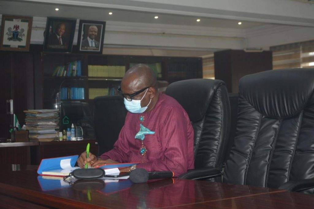 General Manager of the Rivers State Newspaper Corporation, Chief Ernest Chinwo