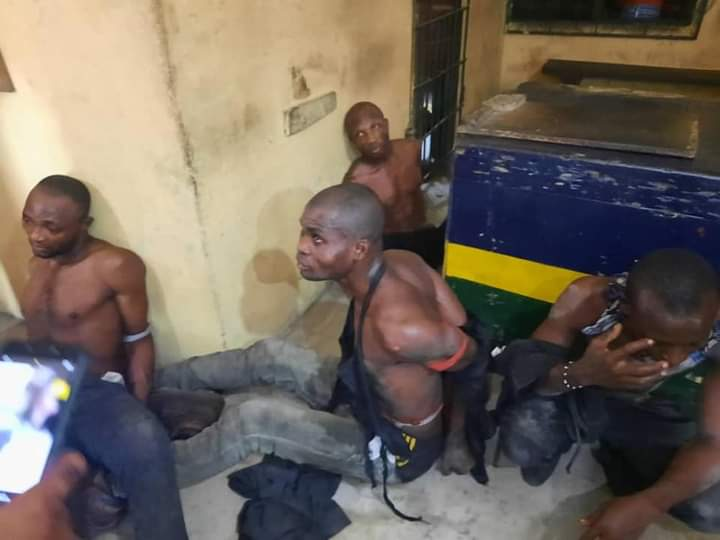 The Eastern Security Network members arrested in Rivers