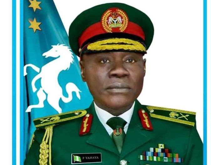 Lt. General Farouk Yahaya: confirmed as Chief of Army Staff by Senate
