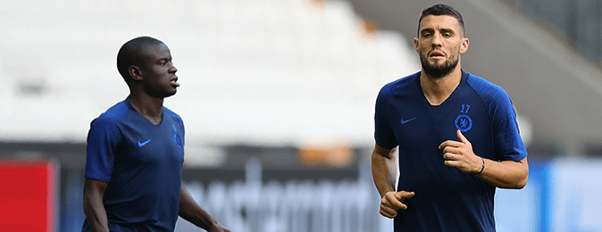 Mateo Kovacic and N'Golo Kante back fit to face Leicester City.