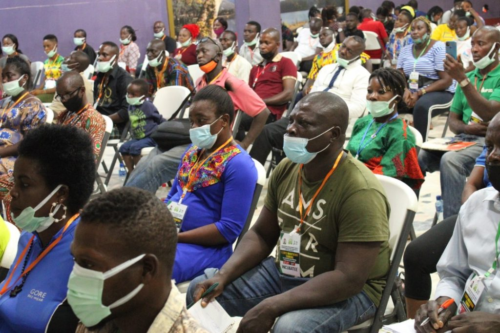 Cross section of participants at agric training programme organised by Edo, FG and IFAD to boost food security