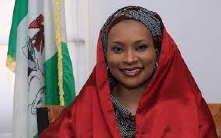 Hajia Asia, wife of Kaduna State Governor, Mallam Nasir El-Rufai: ready to die at the hands of kidnappers