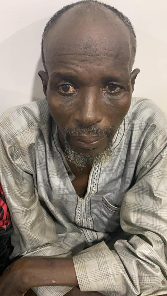 60 -year- old Umaru Mohammed  arrested for Conveying Rifles and Ammunition to Bandits/Kidnappers along the Highways all across the North and Southwest