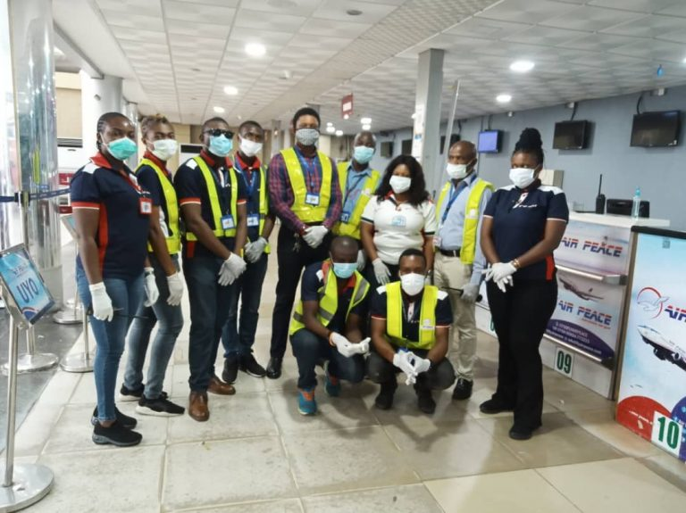 Air Peace staff who stopped the trafficking of the two children
