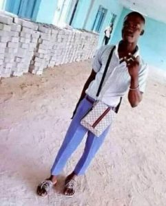 Alade Oba, an SS3 student of Kankon Senior Secondary School, killed during a clash with security operatives at Irosu village near Badagry on Saturday.