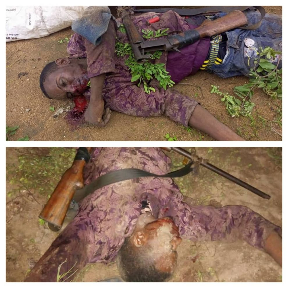 The kidnappers shot dead while collecting ransom in Kogi