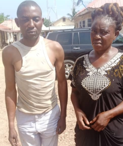 Timothy and Comfort, the couple arrested for theft of POS proceeds