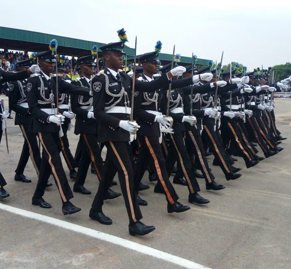 Passing out ceremony of the third regular cadet course, Nigeria Police Academy, Wudil, Kano,