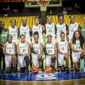 Nigeria's D'Tigress basketball team: beat Angola in Women's Afrobasket competition