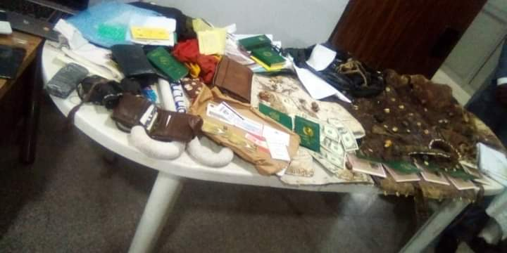 Guns and other items recovered by DSS at Igboho's house