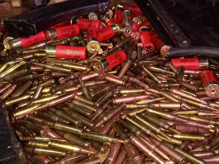 Ammunition recovered from Igboho's residence