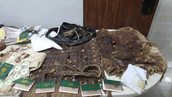 Charm jacket recovered from Igboho's residence