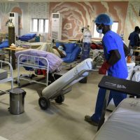Patients undergoing treatment at Covid -19 ward in Nigeria: