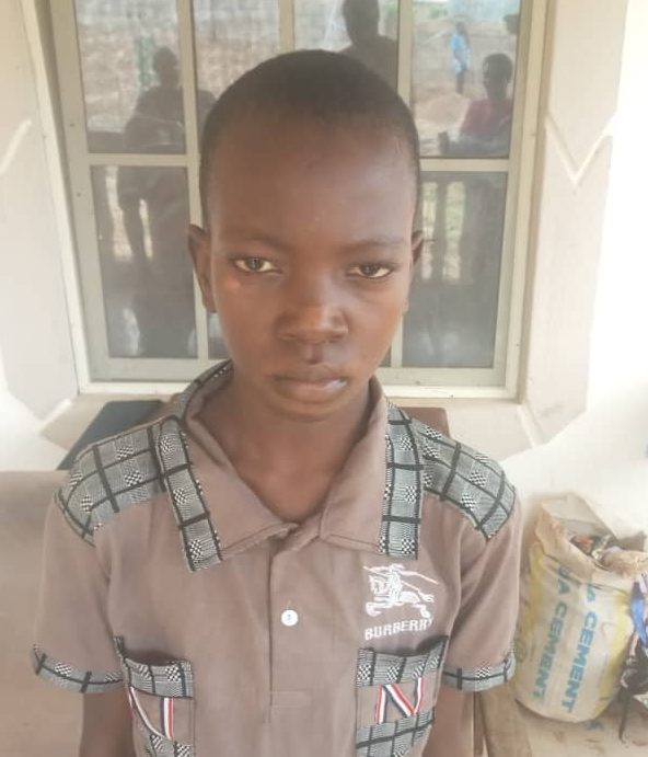 Onose Friday Umasabor: the 11-year-old boy rescued by the police from kidnappers in Edo