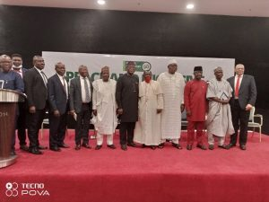 Participants at Nigeria Governors' Forum launch of Peace and Inclusive Security  Initiative PISI.
