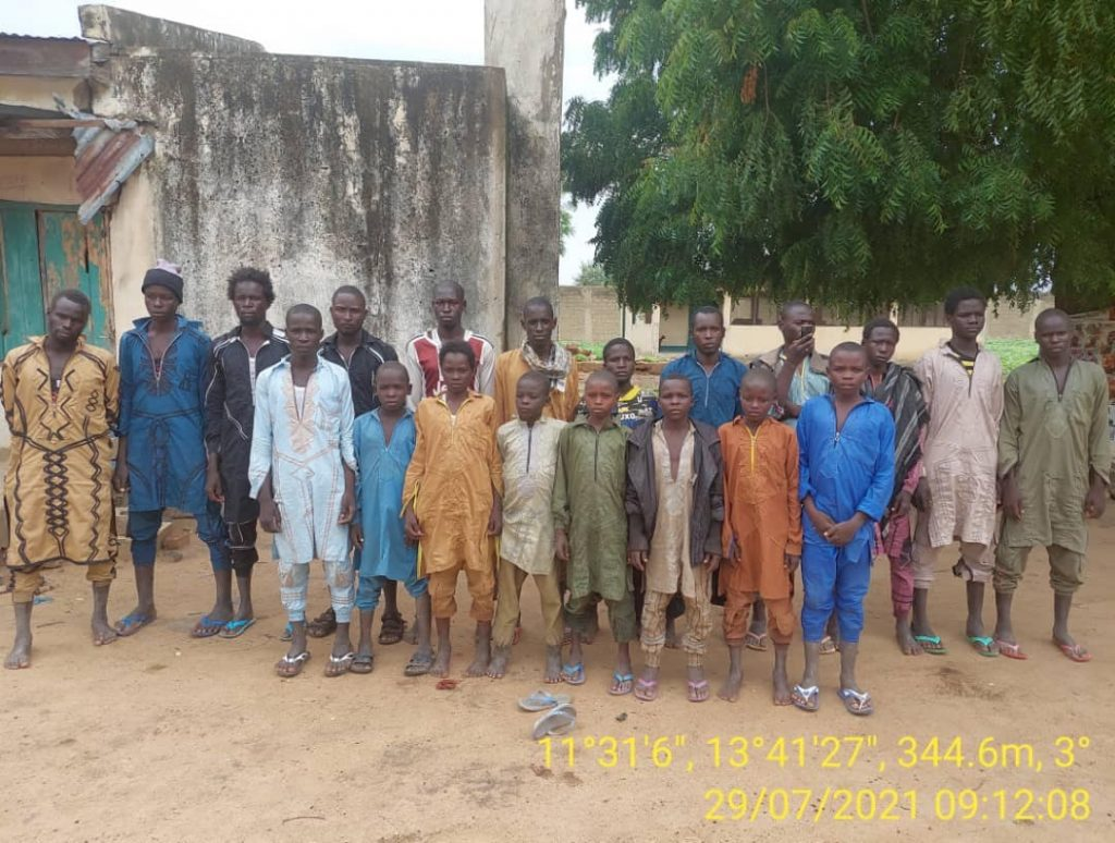 Profiling of the ex- Boko Haram members after they surrendered