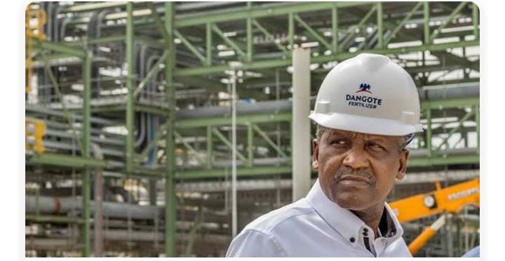 Aliko Dangote in his  refinery: explains how NNPC will pay for stake in Dangote Refinery