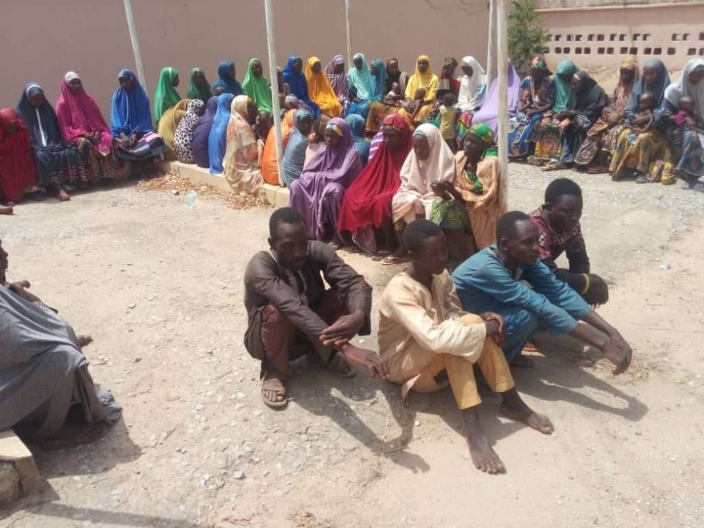 The villagers released after 42 days in the custody of bandits in Zamfara