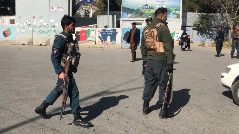 Taliban militants on the prowl in Afghanistan