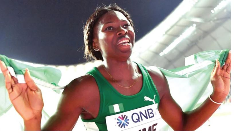 Ese Brume: wins Nigeria's first medal at Tokyo 2020 Olympics