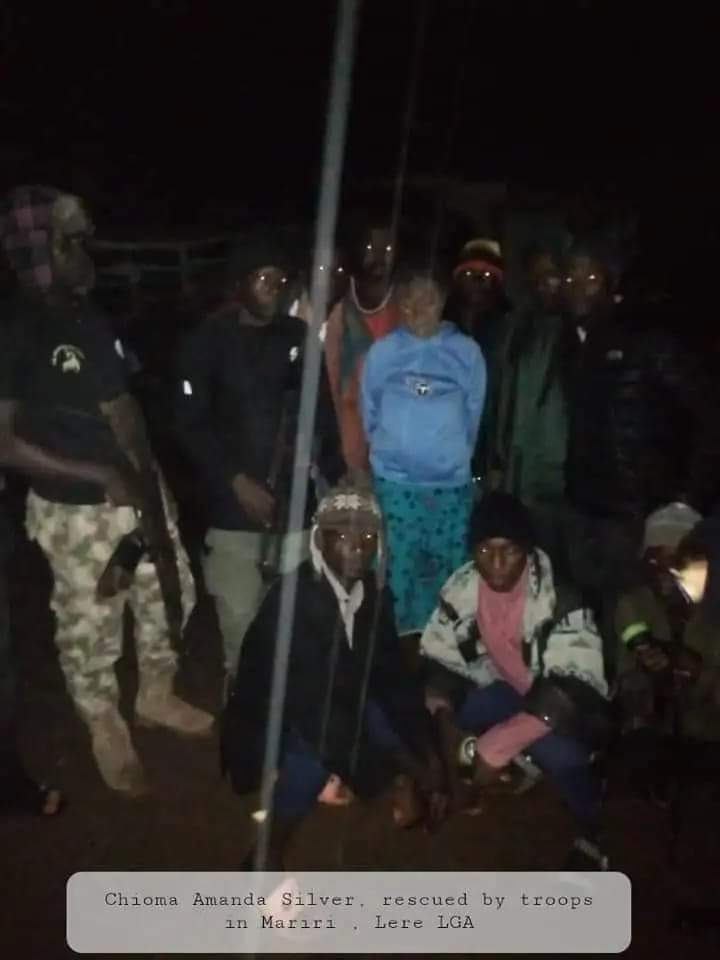 The hostages who escaped from bandits' camps in Kaduna