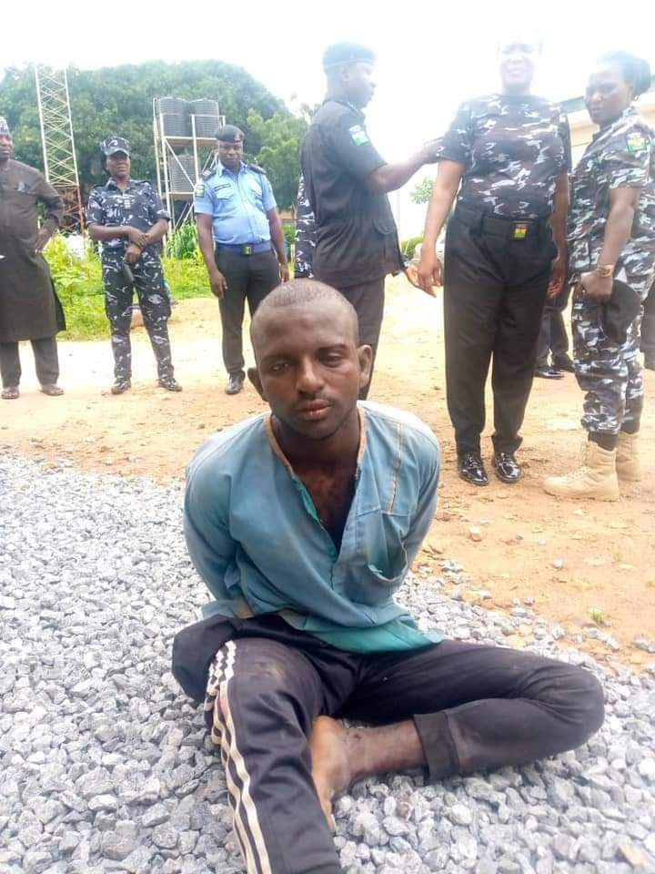 The 35-year-old suspect arrested with 260 rounds of live ammunition and  53 empty magazines in Akwanga Local Government Area of Nasarawa state.