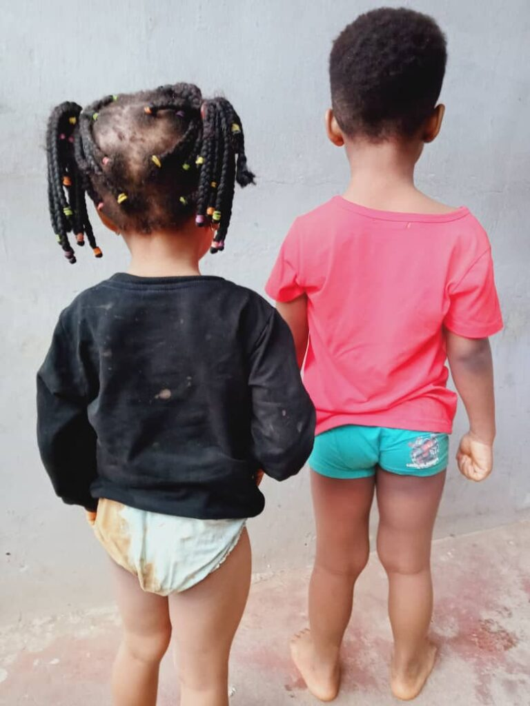 The kids abducted from Lagos and found in Edo State