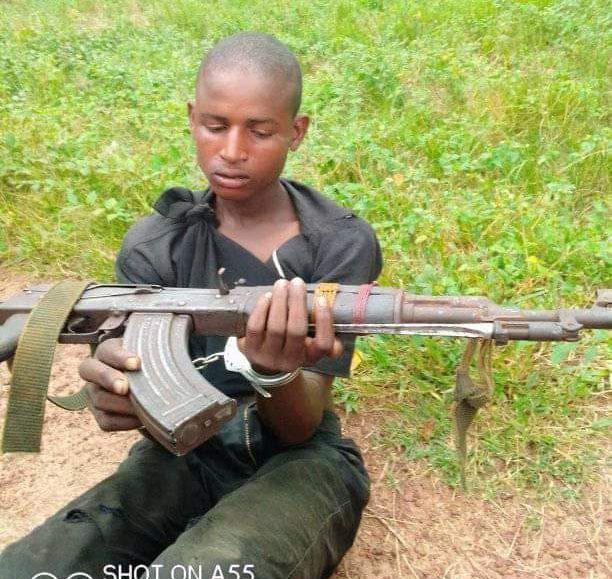 Mohammed: arrested by the police in Ogun with AK-47 rifle