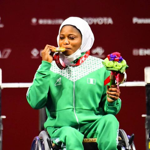 Tijani wins powerlifting gold for Nigeria's first Tokyo Paralympics medal