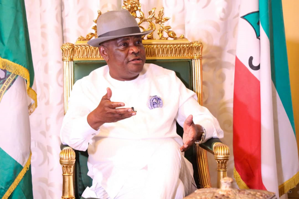 Governor Nyesom Wike of Rivers State: opens up on Uche Secondus, PDP NWC