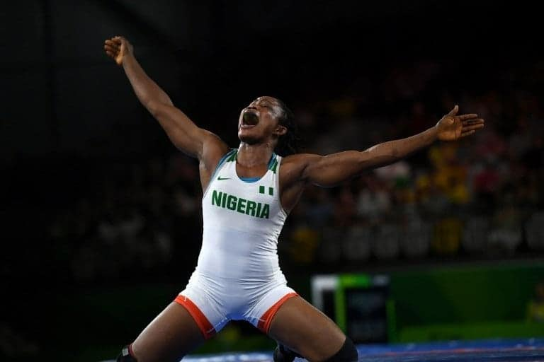 Blessing Oborodudu: reconsiders decision to retire after winning  2020 silver medal  in her third appearance at the Olympics since 2012 in London.