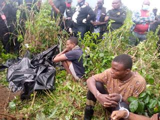 Police exhume remains of Pastor Olakada killed ky kidnappers despite collecting ransom in Rivers