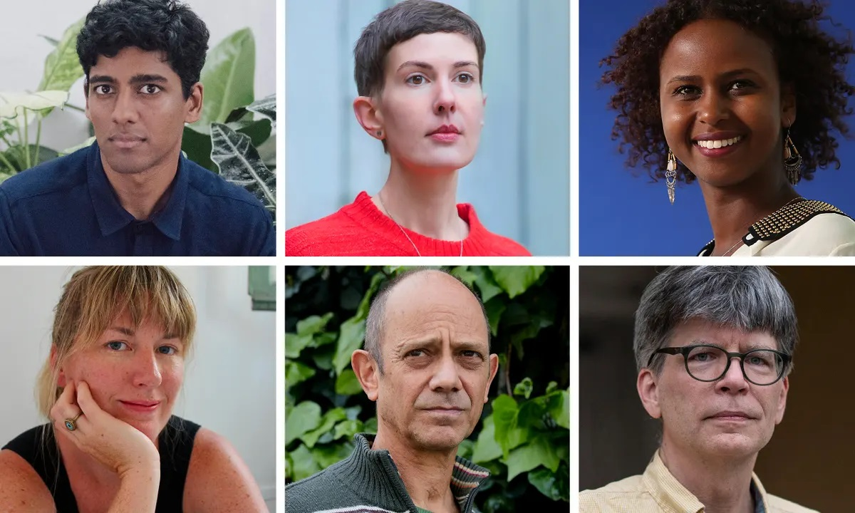Writers shortlisted for 2021 Booker Prize