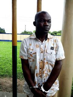 Baridula Gbolo: alleged to be a member of gang of pirates terrorizing Bonny waterways in Rivers.