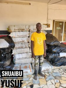 One of the arrested suspects by the Operatives of NDLEA