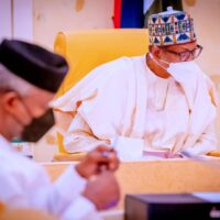 President Muhammadu Buhari at Federal Executive Council meeting: Presidency list how the more than $4 billion from multilateral institutions, under the 2018-2021 medium term (rolling) external borrowing plan.