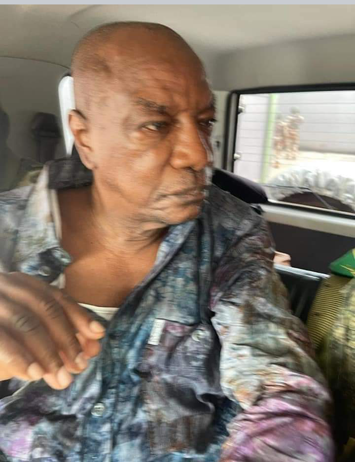 Ousted Guinean President Alpha Conde