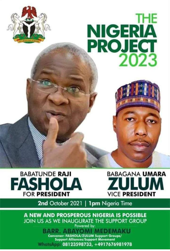 Presidency: 2 reasons Fashola dumps those campaigning for him