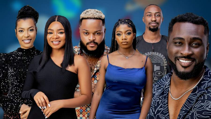 Up for eviction: Whitemoney, Pere, Angel, Nini, Saga and Queen.