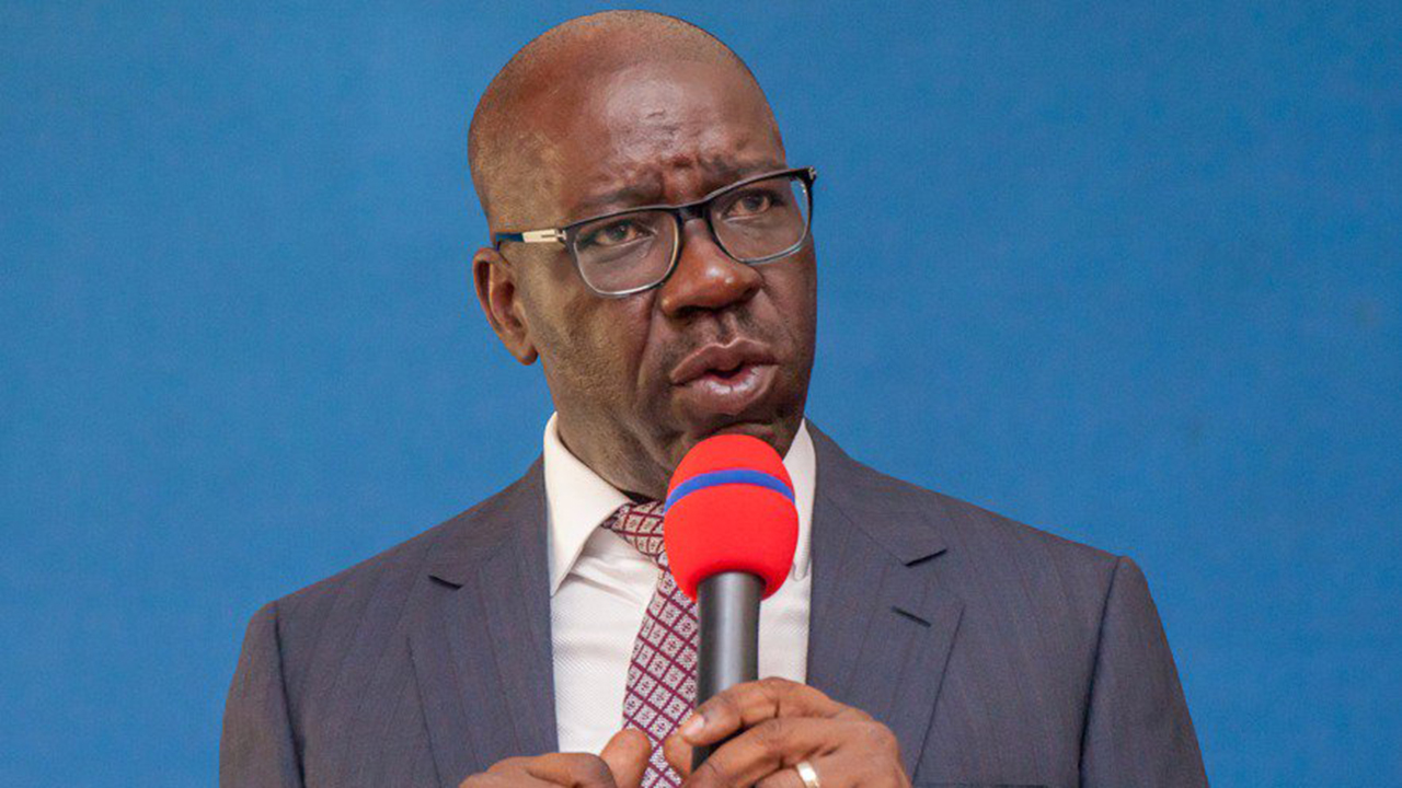 Governor Godwin Obaseki of Edo State: sends 11 names to Edo Assembly for confirmation as commissioners